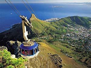 Zuid-Afrika top 5 - Tafelberg Kaapstad