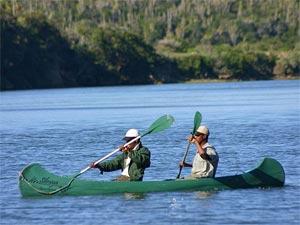 Kanoën tijdens je Zuid-Afrika reis