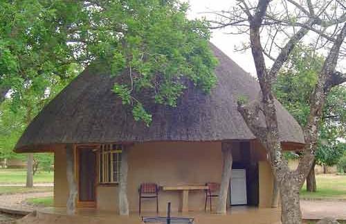 Huisje in het Kruger park