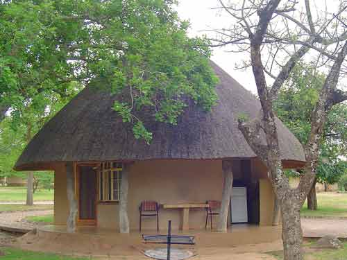 Huisje in het Krugerpark
