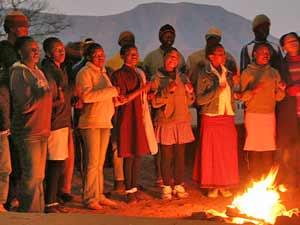 Lesotho koor - reizen Zuid-Afrika