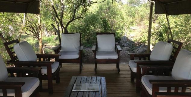 Lounge ruimte - rondreis Zuid-Afrika