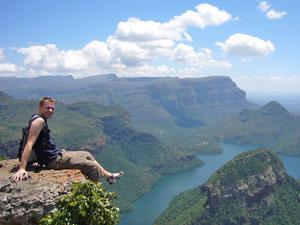Uitzicht tijdens je individuele rondreis Zuid-Afrika