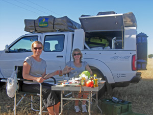4x4 kampeerreizen Zuid-Afrika