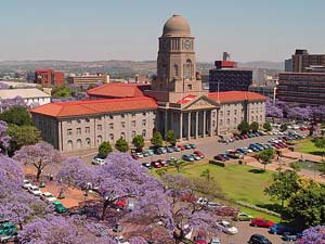 Zuid-Afrika Pretoria - city-hall
