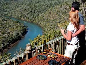 Zuid-Afrika safari prive - Uitzicht bij je prive safari reservaat