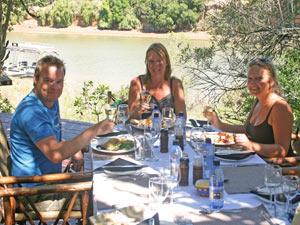 Lunchen aan de Oostkaap - Zuid-Afrika
