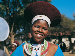 Reizen Zuid-Afrika - Zulu vrouw