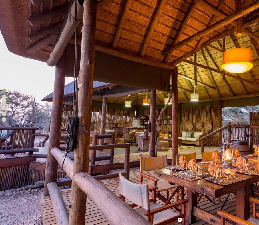 Restaurant Ntambo - rondreis Zuid-Afrika