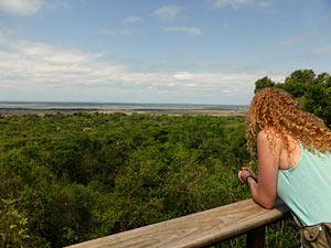 Uitzicht bij St. Lucia - Zuidelijk Afrika