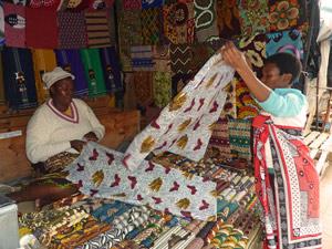 Swaziland markt - reis Zuid-Afrika