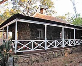 Koloniale lodge in Swaziland