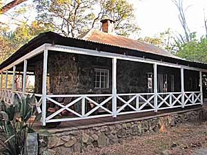 Koloniale lodge in Swaziland