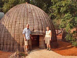 Bijenkorfhuisje in Swaziland