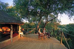 Terras bij je Zuid-Afrika reis