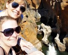 Daar gaan we, twee vrouwen alleen door Zuid-Afrika