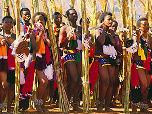 Zuid-Afrika koning Swaziland