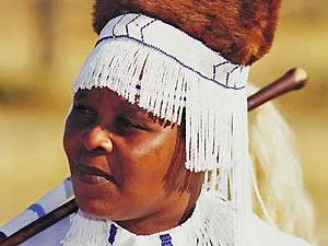 Xhosa vrouw - reis Zuid-Afrika
