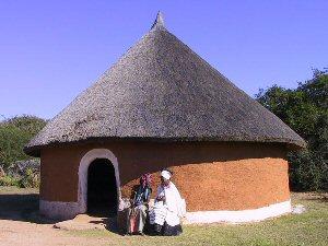 Xhosa huisje - Zuid-Afrika rondreis