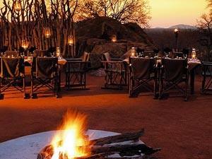 Bij het kampvuur - Kruger Park