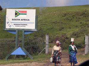Grens Zuid-Afrika