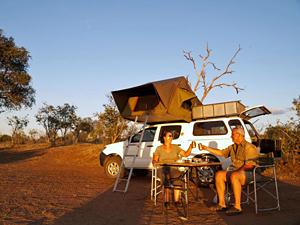 4x4 Zuid-Afrika kampeerreizen