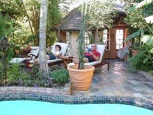 Reizen in Zuid-Afrika: ontspannen