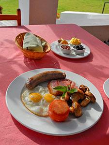 Zuid-Afrikaans ontbijt