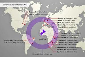 Ebola-kaart