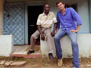 Bram Vermeulen in Afrika
