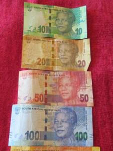 Briefgeld Zuid-Afrika