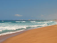 strand kustlijn zuid afrika