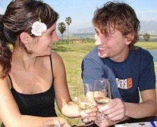 Op huwelijksreis naar Zuid-Afrika