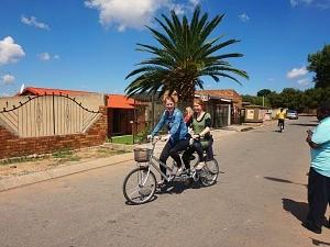 Soweto fietstocht