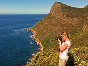 uitzicht zuid-afrika kust