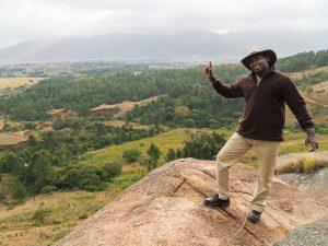 eSwatini gids bij de grot