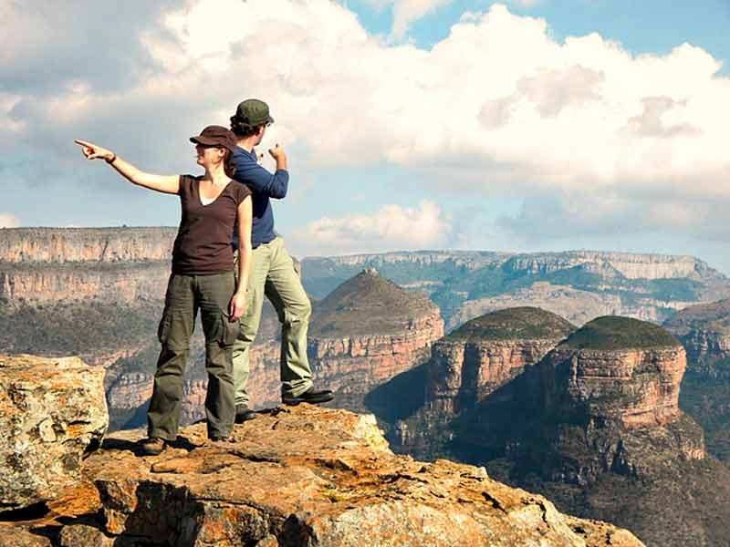 canyon's safari kruger Zuid-Afrika