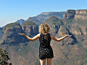 De drie Rondavels - rondreis Zuid Afrika auto
