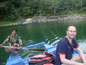 Bootstour auf den Twin Lakes bei Dumaguete