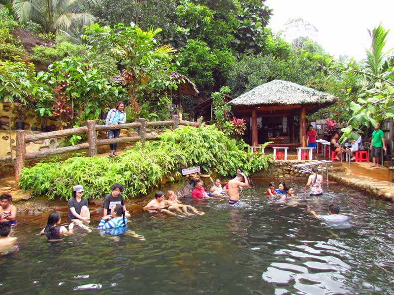 Red Rock Hot Springs nahe Dumaguete