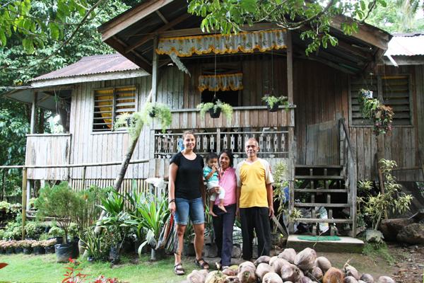 Philippinen valencia homestay Gastfamilie Besucher