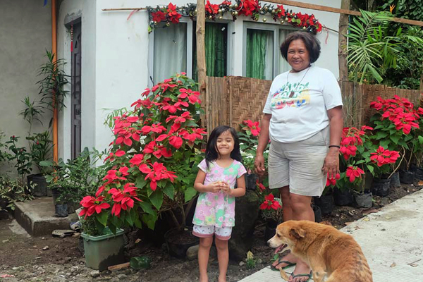 Philippinen valencia homestay mutter kind
