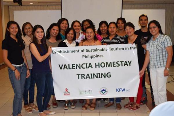 Philippinen valencia homestay training filipinos