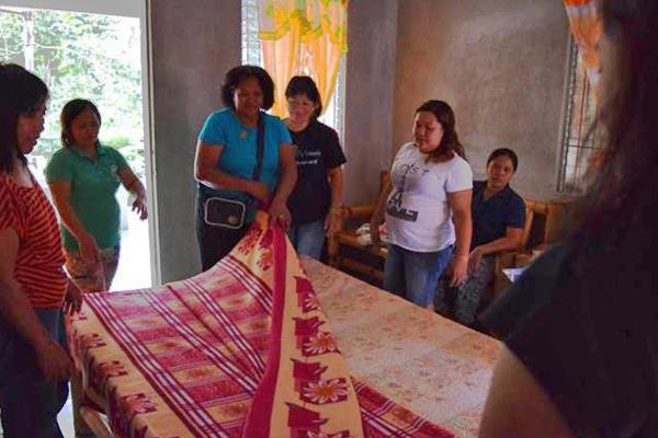 Philippinen valencia homestay training Hauswirtschaft