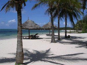 Strand in Kenia