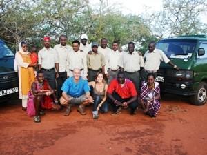 Das Team unserer Partneragentur in Kenia