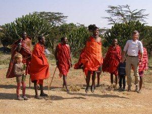 In Kenia Erfahrungen mit den Massai sammeln