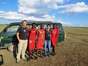 Unterwegs mit den Masai