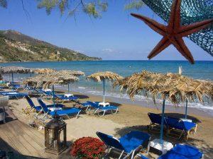 Griechenland Zakynthos Reise Unterkunft Hotel Strand