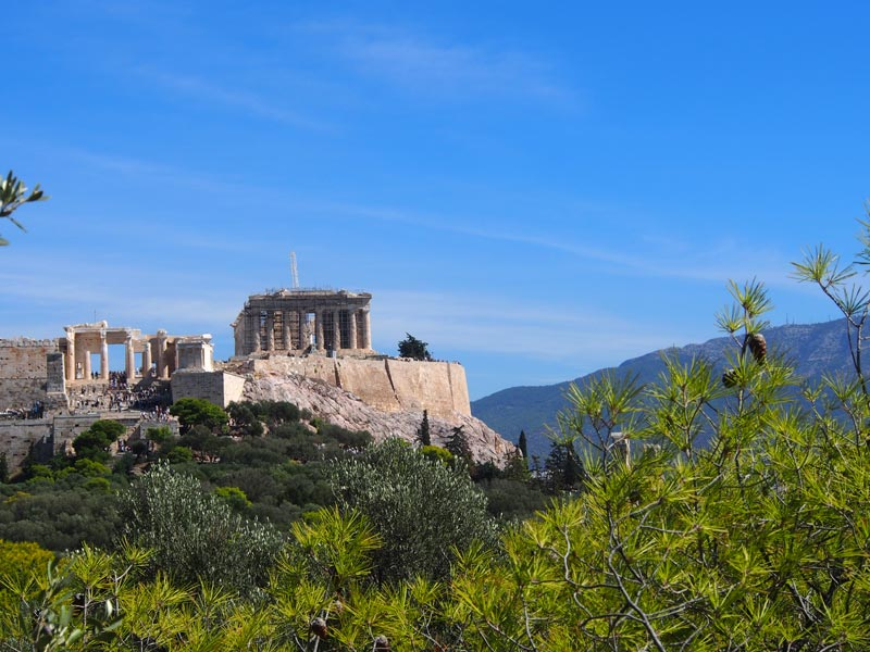 Akropolis Tempel in Athen